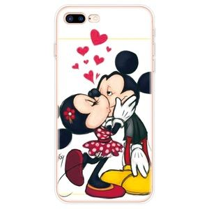 Mickey & Minnie Mouse Kissing iPhone Case